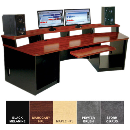 Omnirax Force 32 Audio Video Workstation (Maple Formica)