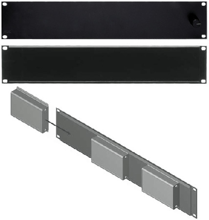 RDL FP-RRA Rack Adapter Flat-Pak Series - 19in Fixed