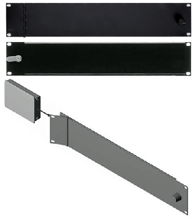 RDL FP-RRAH Rack Adapter Flat-Pak Series - 19in Hinged