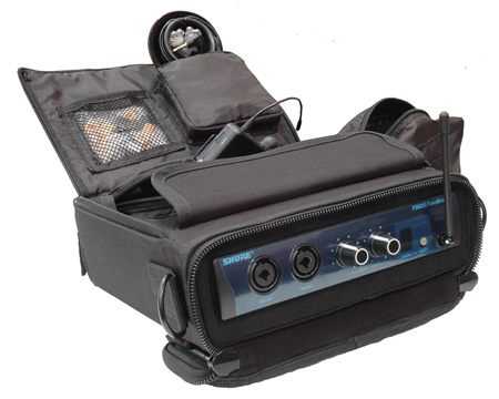 Gator G-IN-EAR-SYSTEM case for half rack wireless In Ear monitoring systems.