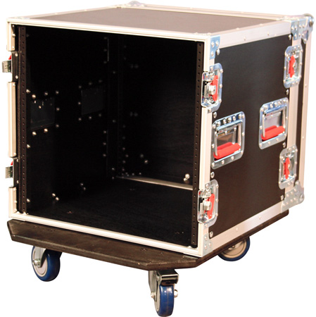 Gator G-TOUR 12U CAST Rack Road Case with Casters