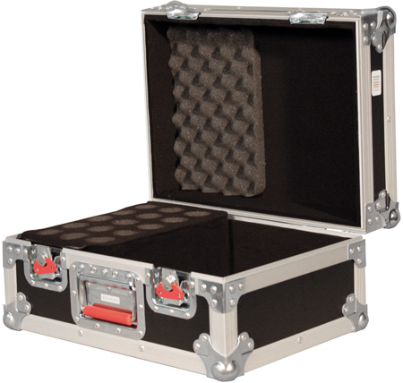 Gator G-TOUR M15 ATA 15 Drop Microphone Road Case