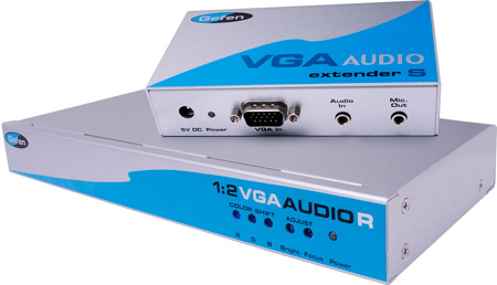 Gefen EXT-VGAAUD-CAT5-142 1x2 VGA Audio Over Cat5