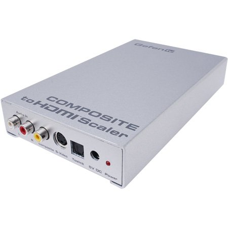 Gefen GTV-COMPSVID-2-HDMIS Composite to HDMI Scaler w/ European (EU) Power Cord