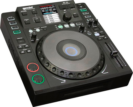 Gemini CDJ-700 Tabletop Media Player