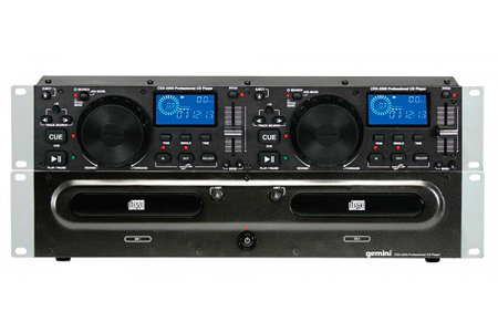 Gemini CDX-2250 Dual Rackmount CD/MP3 Player