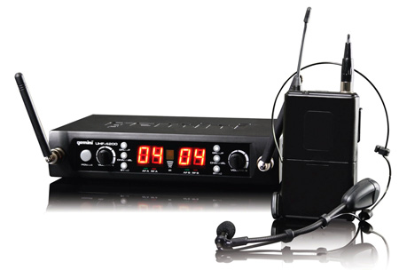 Gemini UHF-4200HL Dual Headset/Lav Wireless System