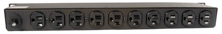 Geist BR100-10 10 Outlet Rack-Mountable Power Distribution Unit