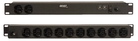 Geist Manufacturing SP124-10 Rack-mountable 12 Outlet Power Distribution Unit