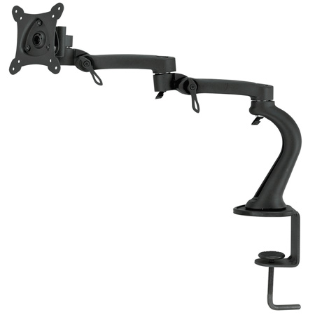 Bentley Mounts D200 Desktop Articulating Monitor Mount for 13-24 Inch Screens