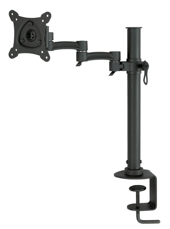 Bentley Mounts D500 Vertical Single Monitor Stand for 13-24 Inch Screens