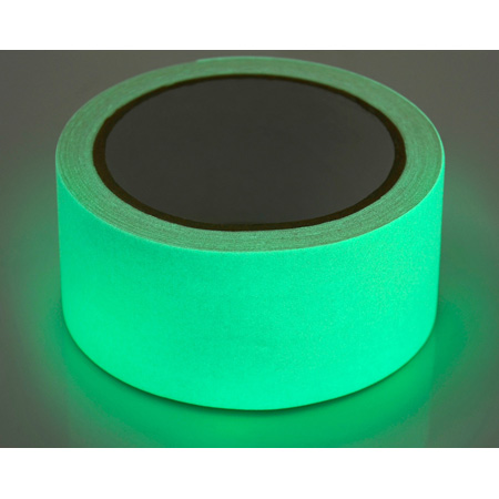 Gaffers Tape GLOWGT1-10 1 Inch x 10 Yards - Glow In The Dark