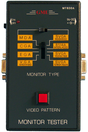 MT-830A Handheld Pattern Generator PC Monitor Tester
