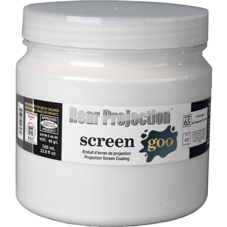 Screen Goo Rear Projection Paint 4731 - 16 Liter