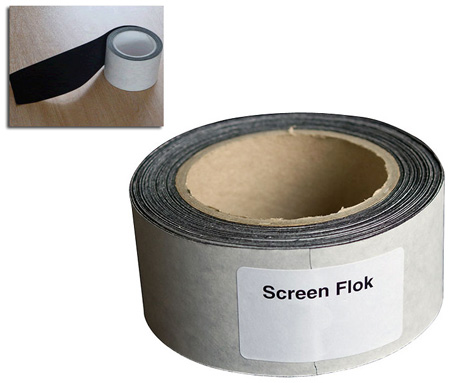 Goo Systems 4960 Flok Tape 2in x 32ft Screen Border