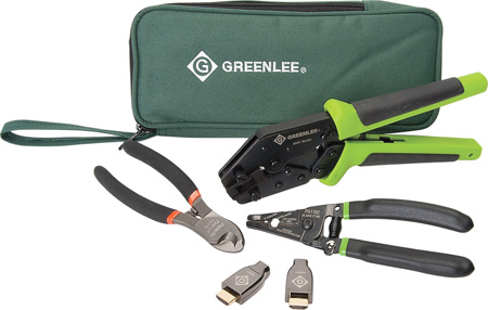 Greenlee PA4017 HDMI Pro Deluxe Kit