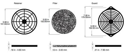 Orion GRM172-45 172mm Filter Kit