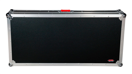 Gator G-TOUR COF-LGCD12-ARM1-PL Large Coffin Case w/DJARM 12 In. Mixer Section