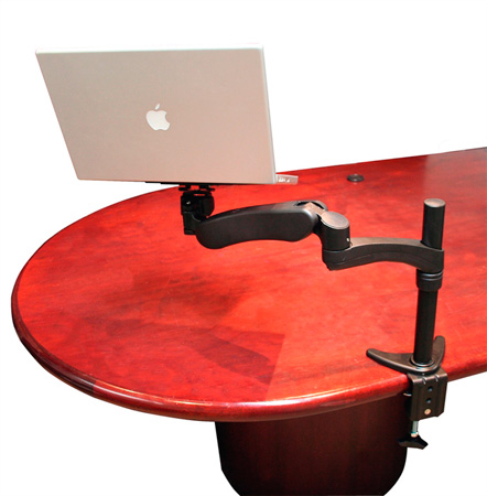 Gator G-ARM-360-DESKMNT Desk Mount Laptop & iPad 360 Degree Articulating DJARM