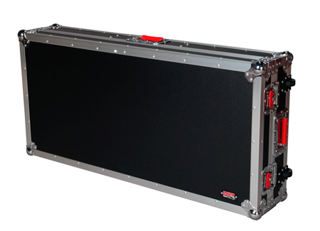 Gator G-TOUR COF-LGCD12 Large Coffin Style DJ case 12 Inch Mixer Section
