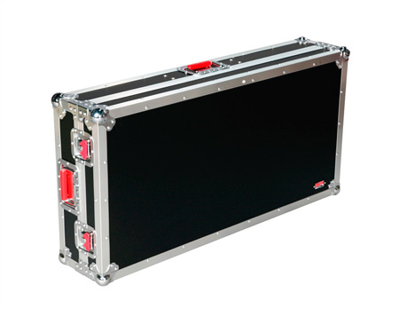 Gator G-TOUR COF-LGCD10 Large Coffin Style DJ Case 10 Inch Mixer Section