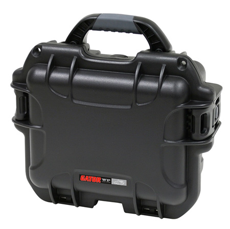 Gator Cases GU-0907-05-WPDV Waterproof Utility Case with Divider System 9.4x7.4x5.5