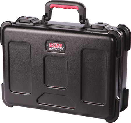 Gator GXDF-1116-8-TSA Utility Case TSA Latches Diced Foam 17x12x8in
