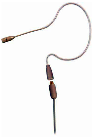 Galaxy Audio ESS Omnidirectional Single-Hook Headset - AT Cable Beige