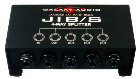4-Way 1/4 Phone Splitter
