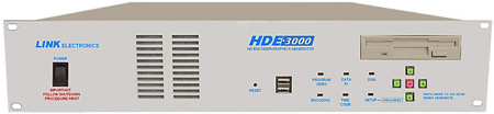 Link Electronics HDE-3000 HD Closed Caption Encoder and Subtitle Generator