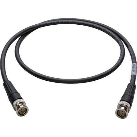 Super Flexible Belden 1505F SDI/HDTV RG59 BNC Cable 1Ft.