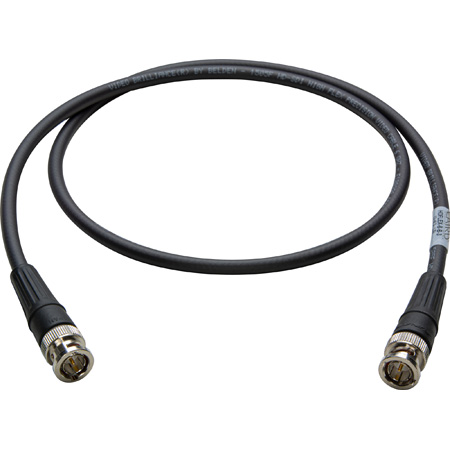 Super Flexible Belden 1505F SDI/HDTV RG59 BNC Cable 3Ft.