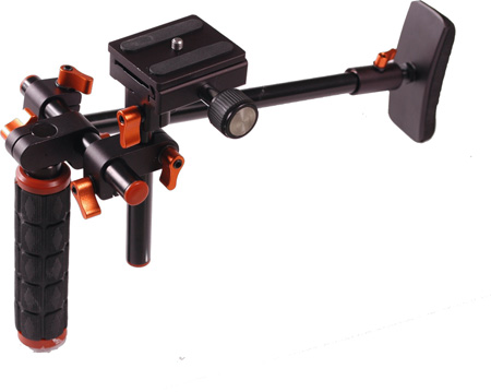 HDSLR Shoulder Rig for DSLR Cameras
