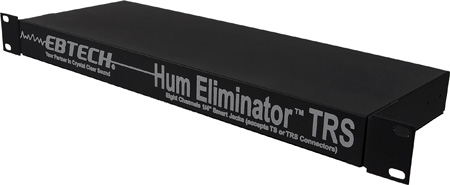 Ebtech HE-2 2-Channel Hum Eliminator with 1/4in Smart Jacks
