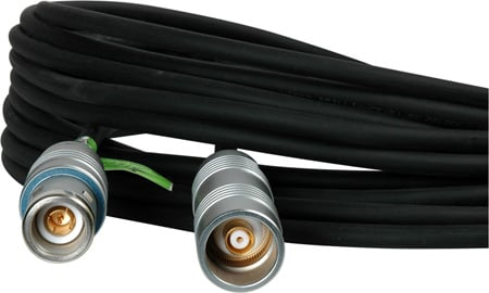 TecNec Triax Cable w/Belden 1857A & Lemo 4A M-F Connectors 300 Foot