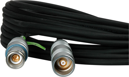 TecNec Triax Cable w/Belden 1857A & Lemo 4A M-F Connectors 50 Foot