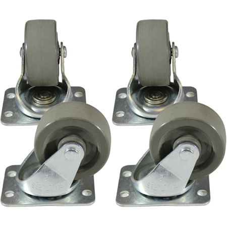 Hammond 1425PHD Heavy Duty Casters Set of 4