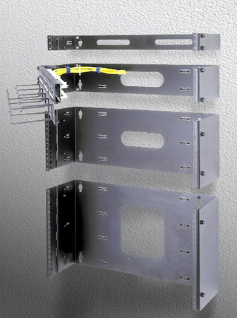 Middle Atlantic 6 Space Hinged Panel Mount