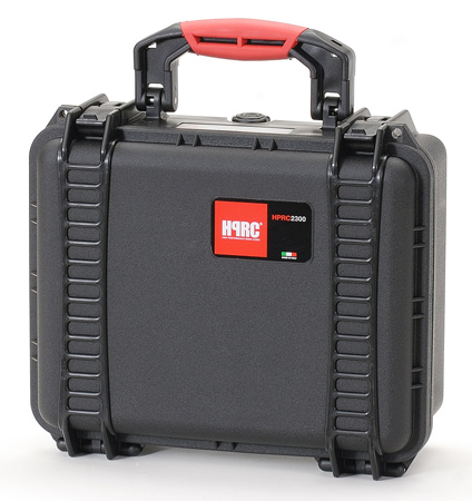 HPRC 2300F Black Hard Case w/Cubed Foam