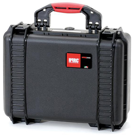 HPRC 2400F Red Hard Case w/Cubed Foam