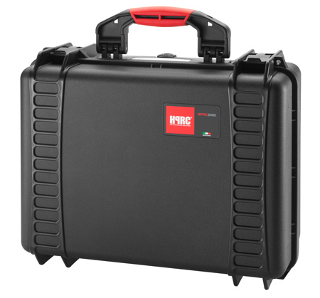 HPRC 2460F Black Hard Case w/Cubed Foam