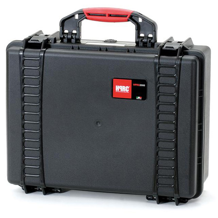 HPRC 2500F Red Hard Case w/Cubed Foam