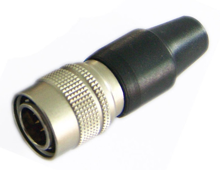 Hirose HR10A-10P-10P 10-Pin Male Push-Pull Connector with 10mm Male Shell