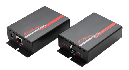 Hall Research UH-1BT 230 Foot HDBaseT Lite HDMI over UTP Extender (Tx & Rx)