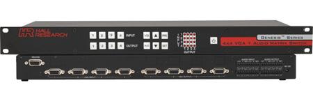Hall Research VSM-A-4-4 4x4 VGA & Audio Matrix Switch