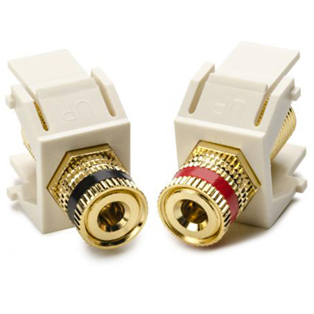 Binding Post Keystone Module-2 Pcs-Ivory
