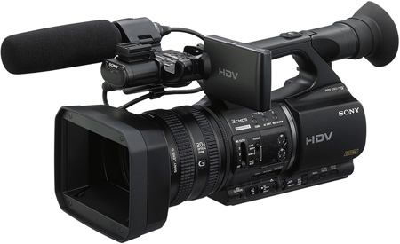 Sony HVRZ5U HDV High Definition Handheld Camcorder