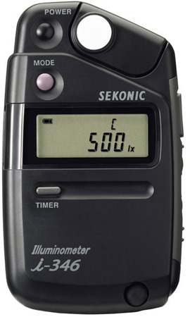 Sekonic i-346 Illuminometer - Lux/Foot Candle Meter