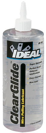 Ideal 31-388 Clear Glide Wire Pulling Lubricant 1 Quart