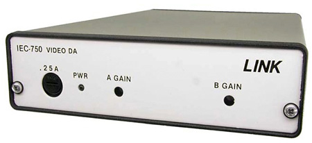 Link Electronics IEC-750 1x8 Video Distribution Amplifier